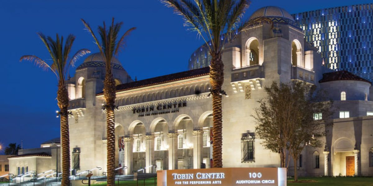 photo of Tobin Center