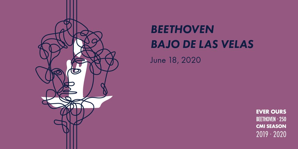 Beethoven bajo de las velas