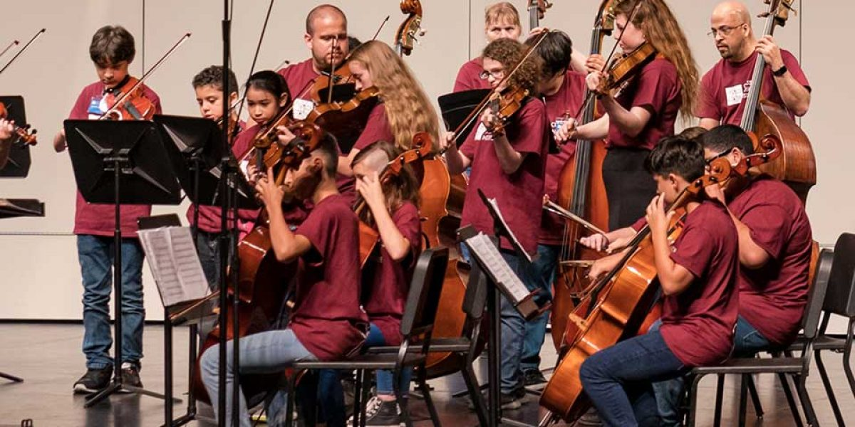 CMI student and faculty orchestra