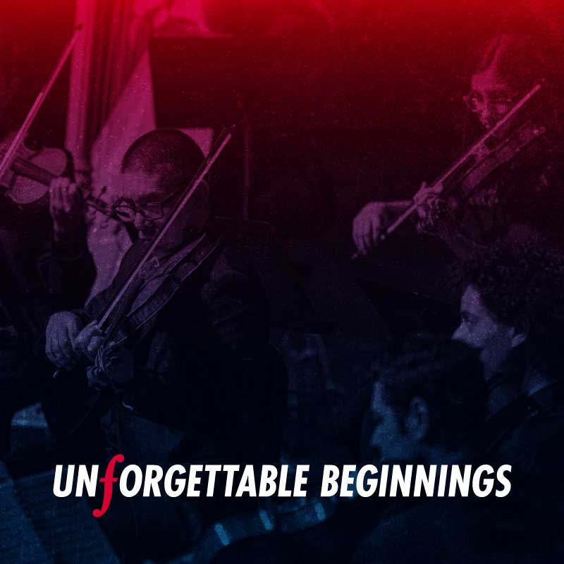 <i>Unforgettable Beginnings</i>