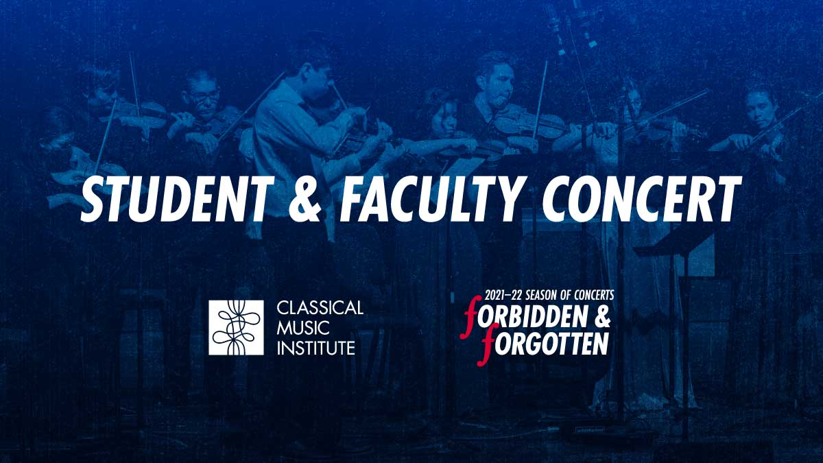Student & Faculty Concert